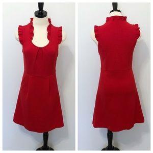 THML A Line Ruffle Sleeveless Dress with Pockets